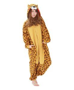 Leoparden - Erwachsenenstrampler