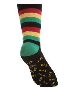 Reggae Gestreifte Socken – komplettiert den Pyjama Look