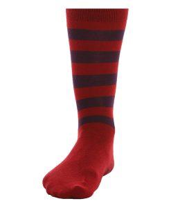 Retro Gestreifte Socken – komplettiert den Pyjama Look
