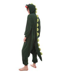 Dinosaurierkostüm Erwachsenenstrampler