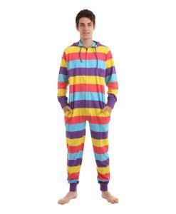 Festival Ganzkörperschlafanzug mit Kapuze