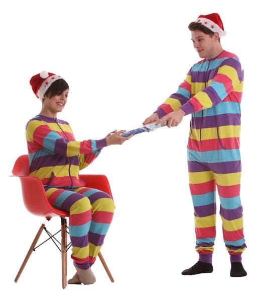 Festival Ganzkörperschlafanzug ohne Kapuze