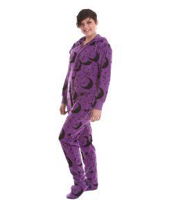 Ganzkörperschlafanzug mit Füßen für Erwachsene - Wizard Funzee, einfach magisch