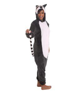 Lemurenkostüm, Erwachsenenkostüm Lemur