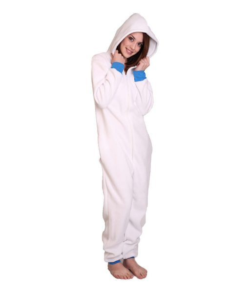 Polar Funzee ohne Füße - weiß und warm