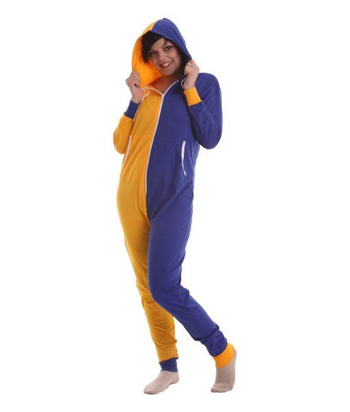Royal Funzee - Ganzkörperschlafanzug mit Kapuze