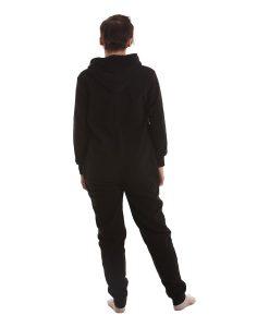 Jet Black Ganzkörperschlafanzug für Erwachsene