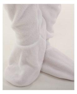 Erwachsenenstrampler Polar mit Poklappe